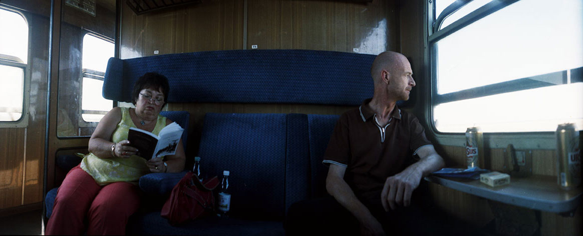 Romania Sluik im Zug